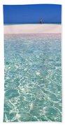 South Pacific Sandbar Beach Towel