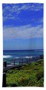 South West Coastline Beach Towel