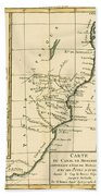 Southern Africa Beach Towel