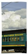 Southern Railway Beach Towel