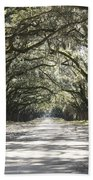 Southern Road Beach Towel