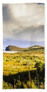 Southern Tip Of Bruny Island Beach Towel