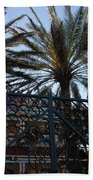 Southernmost Hotel Entrance In Key West Beach Towel