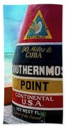 Southernmost Point Beach Towel
