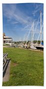 Southport Harbor Connecticut Beach Towel