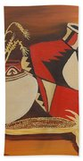 Southwest Pottery Beach Towel
