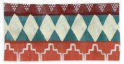 Southwestern 1- Art By Linda Woods Beach Sheet