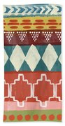 Southwestern 1- Art By Linda Woods Beach Towel