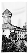 Sovinec - Castle Of The Holy Order Beach Towel