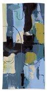 Spa Abstract 2 Beach Towel by Debbie DeWitt