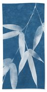 Spa Bamboo 1-art By Linda Woods Beach Towel