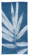 Spa Bamboo 2- Art By Linda Woods Beach Sheet