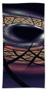 Space Fabric Punctured Beach Towel