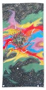 Space Garden Beach Towel