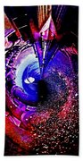 Space In Another Dimension Beach Towel