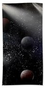 Space Odyssey Beach Towel