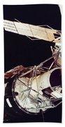 Space: Skylab 3, 1973 Beach Towel
