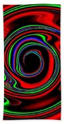 Space Twister Beach Towel