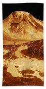 Space: Venus, 1991 Beach Towel