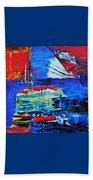 Spaceship Earth Beach Towel