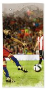 Spain Spanish Super Cup Beach Towel