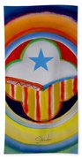 Spanish American Beach Towel