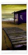 Spanish Beach Hut Beach Towel