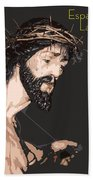 Spanish Christ Beach Towel
