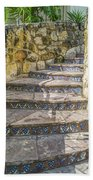 Spanish Steps Beach Towel