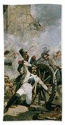 Spanish Uprising Against Napoleon In Spain Beach Towel