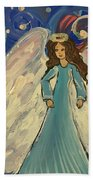 Sparkle Angel Beach Towel