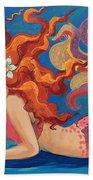 Sparkle Mermaid Beach Sheet