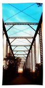 Sparksville Bridge Beach Towel