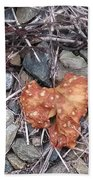 Speckled Leaf Beach Towel