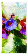 Speckled Trout The Flower Beach Towel