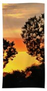 Spectacular Sunset In The Midwest Beach Towel