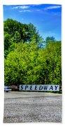 Speedway Diner Beach Towel
