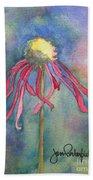 Spent Flower Beach Towel