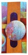 Spheres And Beams Beach Sheet