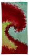 Spherical Colours Beach Towel