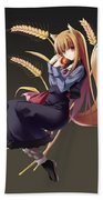 Spice And Wolf Beach Towel