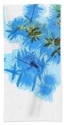 Spider Or Plants Beach Towel