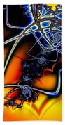 Spiders Lair Beach Towel