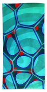 Spiral 4 - Abstract Painting Beach Towel