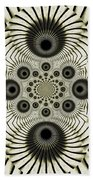 Spiral Eyes Beach Towel