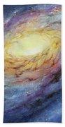 Spiral Galaxy 1 Beach Sheet