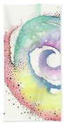 Spiral Of Emotions Beach Towel