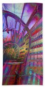 Spiral Staircase Beach Towel