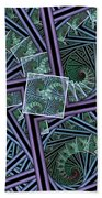 Spiral Staircases Beach Towel