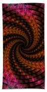 Spiraling Into The Abyss Beach Towel